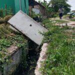 Proyek Drainase Senilai Rp 1,7 M di Mojokerto Terkatung, Dikeluhkan Warga