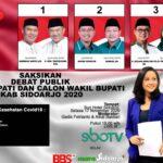 Debat Publik Kedua Pilkada Sidoarjo di Sun City, KPU Gandeng Satgas Covid-19