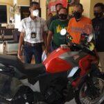 Ngaku Pilot, Warga Sidoarjo Gelapkan Motor Milik Wartawan