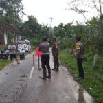 Diterjang Hujan Angin, Kabel PLN di Blitar Lepas, Bahayakan Warga