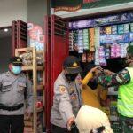 Operasi Yustisi di Pasar Kanigoro Blitar, 10 Pelanggar Prokes Ditindak