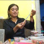 Perempuan di Blitar ini Menemukan Berkah Pandemi dengan Memproduksi Konektor Masker