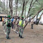 Pjs Bupati Blitar Pimpin Operasi Yustisi di Pantai Serang