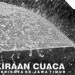 Prakiraan Cuaca Jatim 6 November 2020: Malang, Blitar, Jember dan Situbondo Hujan Angin