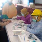 Puluhan Guru dan TU SMAN 2 Situbondo Jalani Rapid Test