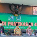 Bersongkok Tenggih, DPRD Gelar Sidang Paripurna Hari Jadi Pamekasan ke-490 Secara Virtual