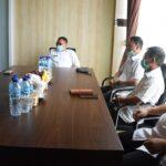 Maksimalkan Pensertifikatan, Pjs Bupati Mojokerto Silaturahmi dengan Kepala BPN
