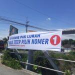 Spanduk Liar Bernada Provokatif Bertebaran di Mojokerto
