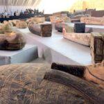 Temuan 40 Patung Berlapis Emas di Kompleks Makam Kerajaan Saqqara