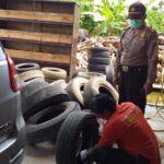 Terekam CCTV, Polres Tulungagung Dalami Kasus Pencurian Kempes Ban