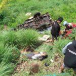 Motor Gerobak Masuk Jurang di Pasuruan, 1 Tewas dan 1 Luka-luka