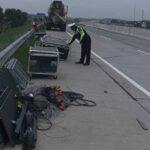 Kecelakaan Pikap di Tol Pasuruan Satu Penumpang Tewas