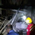 Bangunan Bekas Usaha Mebel di Mojokerto Terbakar, Innova dan Honda Jazz Hangus