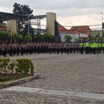 Antisipasi Perayaan Tahun Baru 2021, Polresta Sidoarjo Sebar Ratusan Personel
