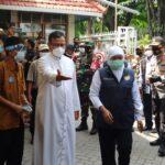Gubernur Jatim Keliling Cek Kesiapan Pengamanan Misa Natal