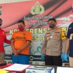 Polres Blitar Bekuk Jambret Antar Kota Asal Malang