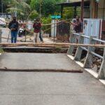 Jembatan Sengon Jombang Putus Baru Diperbaiki Setahun dengan Dana Desa