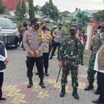 Kunjungi Gresik, Gubernur Pastikan Pilkada di Jatim Lancar dan Terapkan Prokes