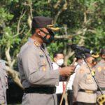 Kapolres Ngawi Perintah Anak Buahnya Memperketat Pengawasan Prokes di Pilkades Serentak