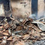 Korsleting Listrik, Rumah dan 2 Sepeda Motor Hangus Terbakar di Situbondo