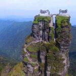Kuil Kembar di Gunung Suci Fanjing Cina yang Mempesona
