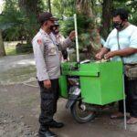 Jelang Libur Nataru, Polisi di Nganjuk Tingkatkan Pengawasan Prokes di Tempat Wisata