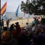 Pengunjung Pantai Wisata Pasir Putih Abaikan Protokol Kesehatan