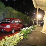 Resepsi Pernikahan Drive Thru di Jember, Pesta Tanpa Kerumunan Cegah Covid-19