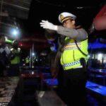 Jalan Menuju Jantung Kota Nganjuk Ditutup saat Malam Tahun Baru