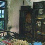 Diduga Akibat Korsleting, Rumah di Doko Blitar Terbakar