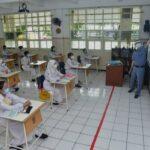 Persiapan Tatap Muka, 14 SMP di Surabaya Gelar Simulasi Pembelajaran Kombinasi