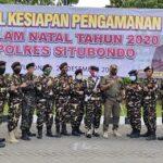 Anggota Banser NU Situbondo Terlibat Pengamanan Natal di Gereja Situbondo