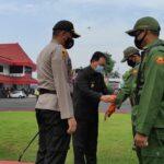 Pemkot Blitar Perbantukan 648 Anggota Linmas untuk Pengamanan Pilwali 2020