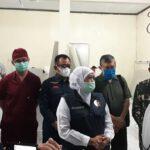 Tinjau RS Lapangan di Malang, Gubernur Jatim: Mudah-mudahan 7 Hingga 10 Hari ke Depan Sudah Bisa Beri Pelayanan