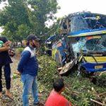 Bus Alami Kecelakaan di Probolinggo, Satu Pemotor Tewas