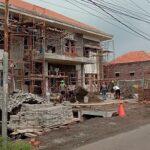 Proyek Pembangunan Mapolsek Kanigaran Kota Probolinggo Molor