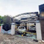 Kebakaran Rumah Pejabat Dinkes Tulungagung, Polisi Masih Menunggu Hasil Puslabfor Polda Jatim