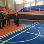 Sekda Jombang Tinjau Hasil Perbaikan Sarana Olahraga TA 2020