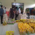 Ribuan Sembako Bantuan Covid-19 di Gudang Liposos Jember Rusak