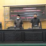 Wabup Hadiri Jawaban DPRD Jombang atas 2 Raperda, Pesantren dan Pariwisata