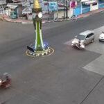 Terekam CCTV, Pengendara Motor di Situbondo Tertabrak Kijang Inova di Perempatan