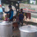 1.800 Nasi Bungkus Disiapkan untuk Korban Banjir Jombok, Jombang