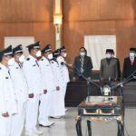 Sembilan Kades Terpilih di Jombang Dilantik, Ini Pesan Bupati Mundjidah