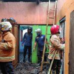 Cas HP Picu Korsleting Listrik, Rumah Warga Garum Blitar Terbakar