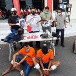 Dua Pelaku Pembunuhan Pengemudi Ojol di Surabaya Ditembak
