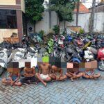 Polrestabes Surabaya Amankan Enam Pemuda Pelaku Tawuran di Ngaglik
