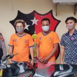 Usai Rampas Tas Warga Surabaya, Dua Jambret Jatuh dari Motor