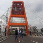 Jembatan Joyoboyo Jadi Spot Foto Baru Warga Surabaya