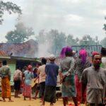 Korsleting Listrik, Dua Rumah di Pamekasan Ludes Terbakar