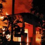 Gudang Home Industri Sepatu di Sidoarjo Terbakar, Terdengar Suara Ledakan